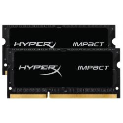 HyperX Impact HX316LS9IBK2/8 Black 8GB (4GB x2) DDR3L 1600Mhz Non ECC Memory RAM SODIMM