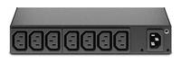 APC AP6015A power distribution unit (PDU) 8 AC outlet(s) 0U/1U Black