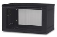 APC AR106 rack cabinet 6U Wall mounted rack Black