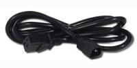 APC C19/C14 2m Black C14 coupler C19 coupler