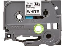 Brother TZE251 label-making tape Black on white TZe