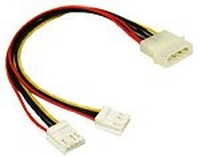 C2G 5.25in/3.5in Internal Power Y-Cable 0.25 m