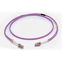 C2G 5M LC/LC OM4 LSZH FIBRE PATCH - VIOLET fiber optic cable 196.9