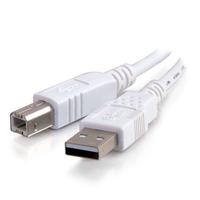 C2G 5m USB 2.0 A/B Cable USB cable USB A USB B White