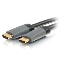 C2G 80551 HDMI cable 1 m HDMI Type A (Standard) Black, Grey