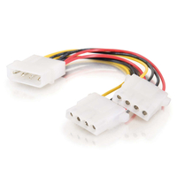 C2G 0.15m One 5.25in to Two 5.25in Internal Power Y-Cable