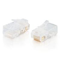 C2G 88121 wire connector RJ-45 White