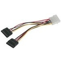 C2G SATA Power Adapter Cable SATA cable Black