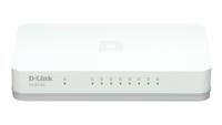 D-Link GO-SW-8G Managed L2 Gigabit Ethernet (10/100/1000) White