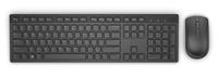 DELL KM636 keyboard RF Wireless QWERTY English Black