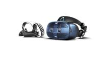 DELL Vive Cosmos (UK) Dedicated head mounted display Black, Blue