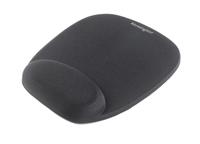 Kensington Foam Mousepad with Integral Wrist Rest Black
