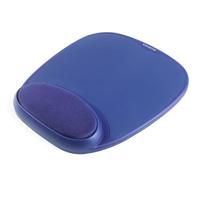 Kensington Foam Mousepad with Integral Wrist Rest Blue