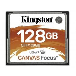 Kingston Canvas Focus 128GB Compact Flash (CF) Card 150MB/s R, 130MB/s W