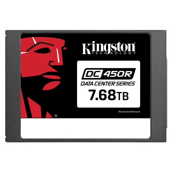 Kingston 7.68TB (7680GB) DC500R SSD 2.5 Inch 7mm, SATA 3.0 (6Gb/s), 560MB/s R, 504MB/s W
