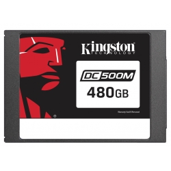 Kingston 480GB DC500M SSD 2.5 Inch 7mm, SATA 3.0 (6Gb/s), 555MB/s R, 520MB/s W