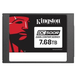 Kingston 7.68TB (7680GB) DC450R SSD 2.5 Inch 7mm, SATA 3.0 (6Gb/s), 3D TLC, 545MB/s R, 490MB/s W