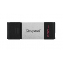 Kingston 256GB DataTraveler DT80 Type-C Flash Drive USB 3.2, Gen1, 200MB/s