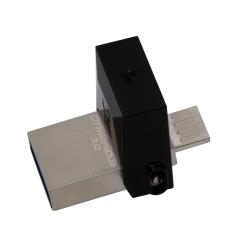 Kingston 64GB DataTraveler MicroDuo Flash Drive USB 3.0, 70MB/s