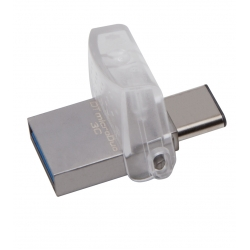 Kingston 32GB DataTraveler MicroDuo Flash Drive USB 3.1, Gen1, 100MB/s