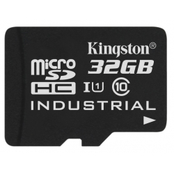 Kingston 32GB Industrial Micro SD (SDHC) Card 45MB/s R, 90MB/s W