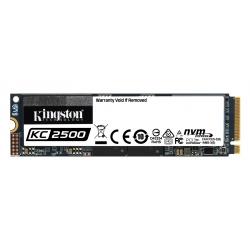 Kingston 1TB (1000GB) KC2000 SSD M.2 (2280), NVMe, PCIe 3.0 (x4), 3200MB/s R, 2200MB/s W