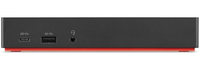 Lenovo 40AS0090EU notebook dock/port replicator Wired USB 3.2 Gen 1 (3.1 Gen 1) Type-C Black