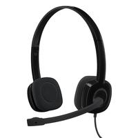 Logitech H151 Headset Head-band 3.5 mm connector Black