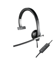 Logitech H650e Headset Head-band Black, Grey