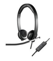 Logitech H650E Headset Head-band Black, Silver
