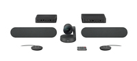 Logitech Rally Plus video conferencing system 16 person(s) Ethernet LAN Group video conferencing system