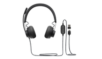 Logitech Zone Wired Teams Headset Head-band USB Type-C Black